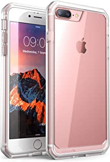 SUPCASE Unicorn Beetle Series Case Designed for iPhone 8 Plus, Premium Hybrid Protective Clear Case for Apple iPhone 7 Plus 2016 / iPhone 8 Plus 2017 Release (Frost/Clear)
