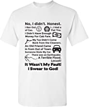 It Wasn't My Fault Tee - Funny Cult Classic Movie Quote T Shirt
