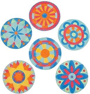 Best Fun Express Beautiful Mandala Sand Art Pictures - Brilliant Colors - 24 Kits Review