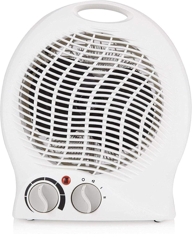 XIANGAI Calefactor Pequeños electrodomésticos Chimenea eléctrica, portátil del Ventilador del Calentador de pie Ajustable Termostato sobrecalentamiento Protec.