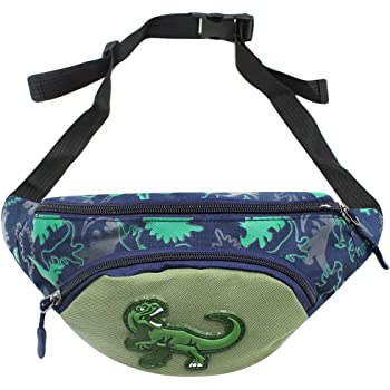 Collection Cute Cartoon Dinosaurspattern Running Lumbar Pack For Travel Outdoor Sports Walking Travel Waist Pack,travel Pocket With Adjustable Belt
