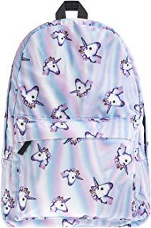 School Backpack for Girls,Fashion Unicorn Student School Backpack,Casual Shoulder Bag by Aigemi