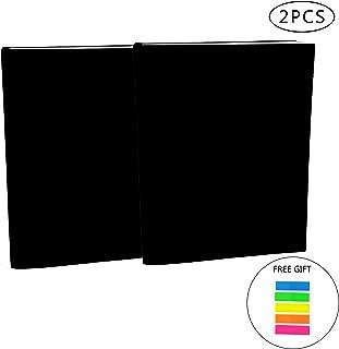 伸縮自在ジャンボブックカバー 最大9.5インチ×14インチのハードカバー教科書に対応 2パック 丈夫なブックプロテクター 洗濯可能 再利用可能 オフィス用品 エクストラインデックスタブ 100枚 2 pack