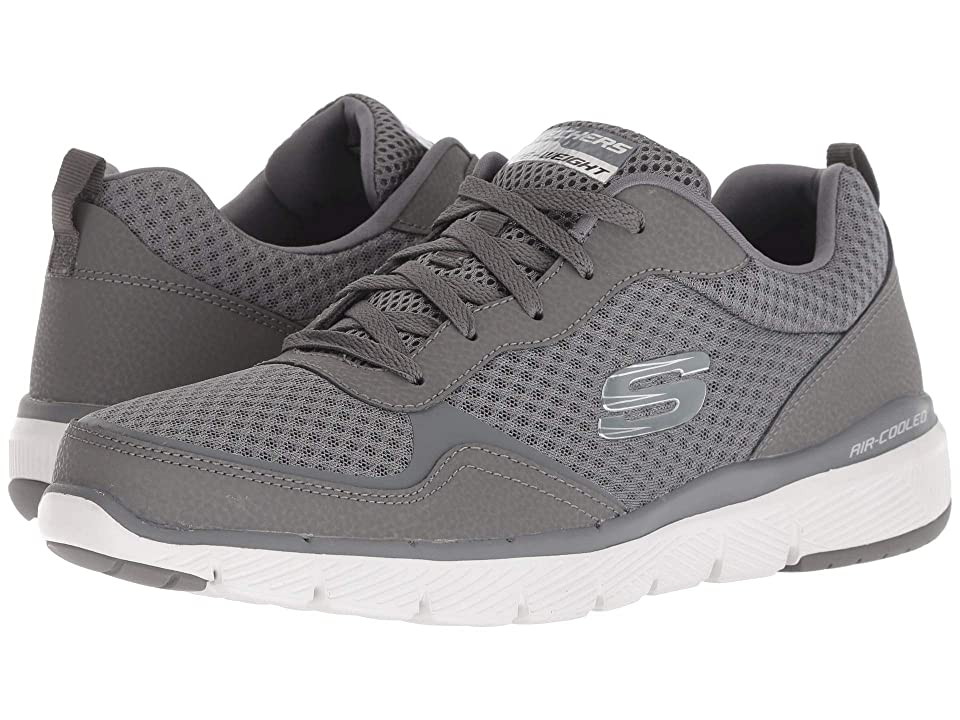 SKECHERS Flex Advantage 3.0 (Charcoal) Men