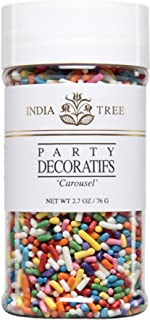 India Tree Carousel Decoratifs, 2.7 oz (Pack of 3)