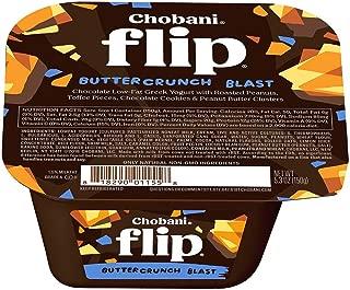 Chobani Flip Buttercrunch Blast Yogurt, 5.3 Ounce -- 12 per case.