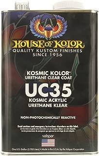 KOSMIC KOLOR URETHANE KLEAR HOUSE OF COLOR UC35 Gallon