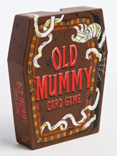 Chronicle Books Old Mummy Card Game: (Spooky Mummy and Monster Playing Cards, Halloween Old Maid Card Game), 1 EA