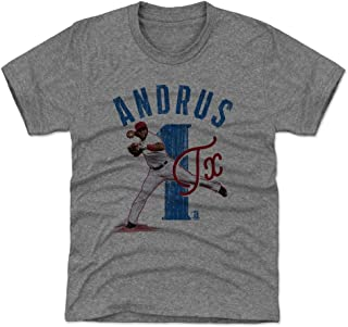 Elvis Andrus Texas Baseball Kids Shirt - Elvis Andrus Arch