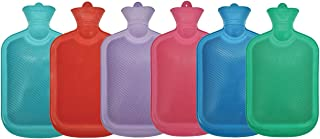 Hot Date Ribbed Hot Water Bottle, 2 Litre Capacity