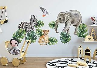 Murwall Kids Wall Decals Nursery Tropical Wall Sticker...