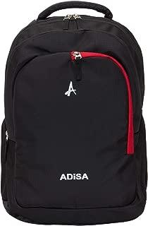 ADISA BP0017 Black Light Weight 30 Ltrs Casual Laptop Backpack/College Bag/School Bag