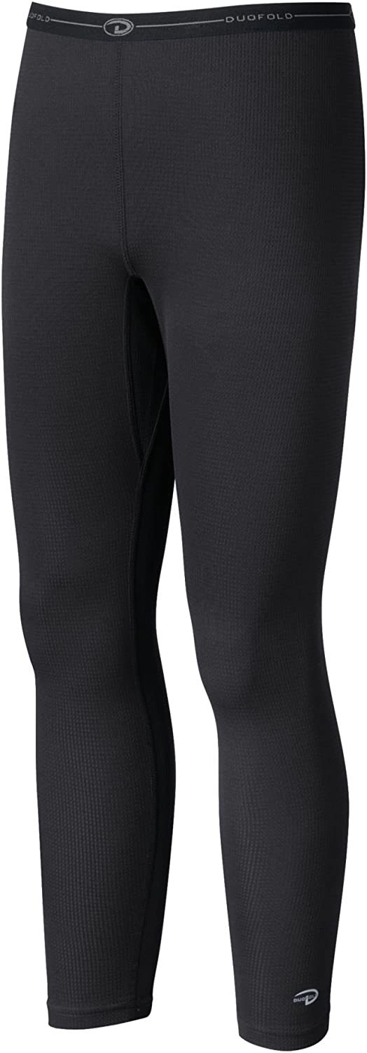Champion Duofold Youth Ankle Length Thermal Bottom Black