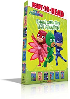 Read with the Pj Masks!: Hero School; Owlette and the Giving Owl; Race to the Moon!; Pj Masks Save the Library!; Super Cat...