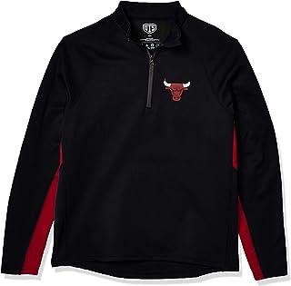 NBA Men's OTS Poly Fleece 1/4-Zip Pullover