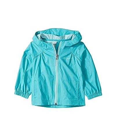 Columbia Kids Switchbacktm Rain Jacket (Toddler) (Geyser/Gulf Stream) Girl