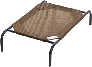 Coolaroo 472412 The Original Elevated Pet Bed, Small, Nutmeg