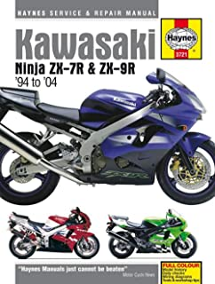 Kawasaki Ninja ZX-7R and ZX-9R Haynes Repair Manual (1994 - 2004)