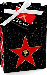 Red Carpet Hollywood - Movie Night Party Favor Boxes - Set of 12
