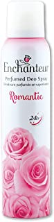 Enchanteur Romantic Perfumed Deo Spray for Women, 150ml