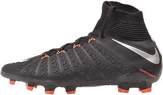 Nike Youth Hypervenom Phantom III Dynamic Fit FG Cleats [Black] (4.5Y)