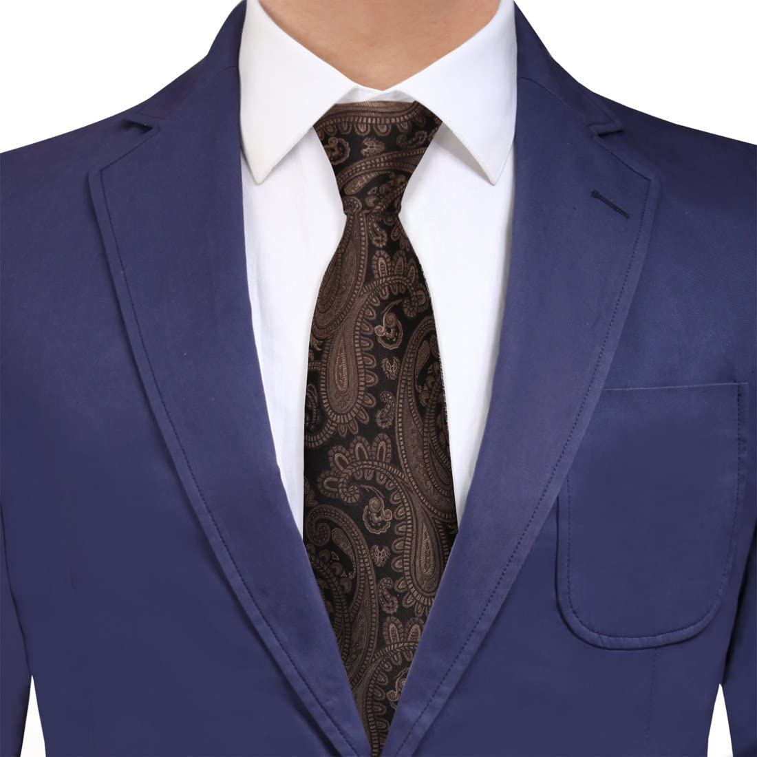YG Men's Fashion Men Silk Patterns Extra for Long Louisville-Jefferson OFFicial County Mall Neck Him Tie