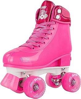 Crazy Skates Adjustable Roller Skates for Girls and Boys - Glitter Pop Collection