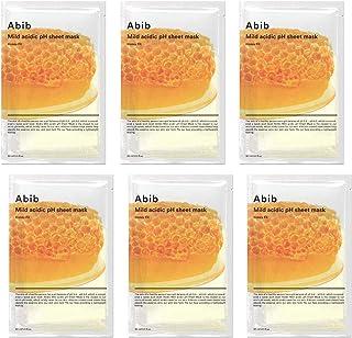 Abib Mild acidic pH Sheet Mask Honey Fit 30ml/1.01 fl.oz (6-sheets)