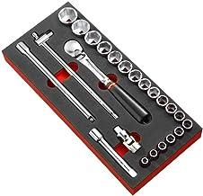 FACOM module met 1/2 inch dopsleutels, 6 kanten, schuimrubberen inzetstuk, 1 stuks, MODM.SL1