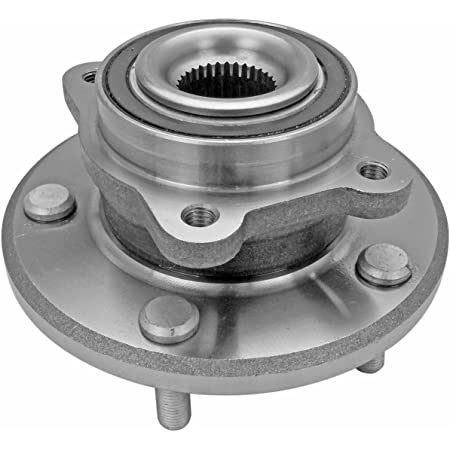 CRS NT513313 New Wheel Bearing Hub Assembly Side w//ABS Front Driver for 2007-2016 Lexus LS460 RWD Left