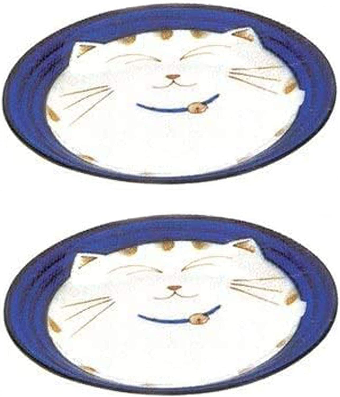 JapanBargain Japanese Round Porcelain Our shop OFFers the best Year-end gift service Plate for Appertiz Dinner
