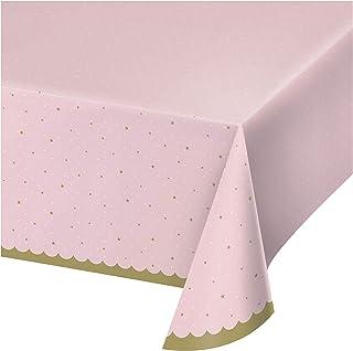 Creative Converting Stylish Swan Plastic Tablecloth
