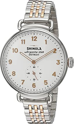 Shinola Detroit - The Canfield 38mm - 20004468
