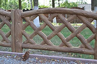 concrete fence molds