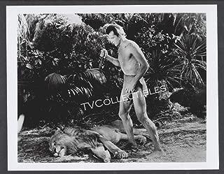 8x10 Photo~ Tarzan Movies ~Herman Brix aka Bruce Bennett ~Lion Knife