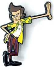 Leaning Cartoon Ace - Ace Ventura Collectible Pin