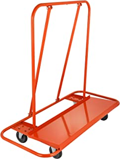 BestEquip Drywall Cart Capacity Drywall Cart Dolly Utility Handling Sheetrock Panel 45 x 14.5 Inch Deck Size (3000lbs)