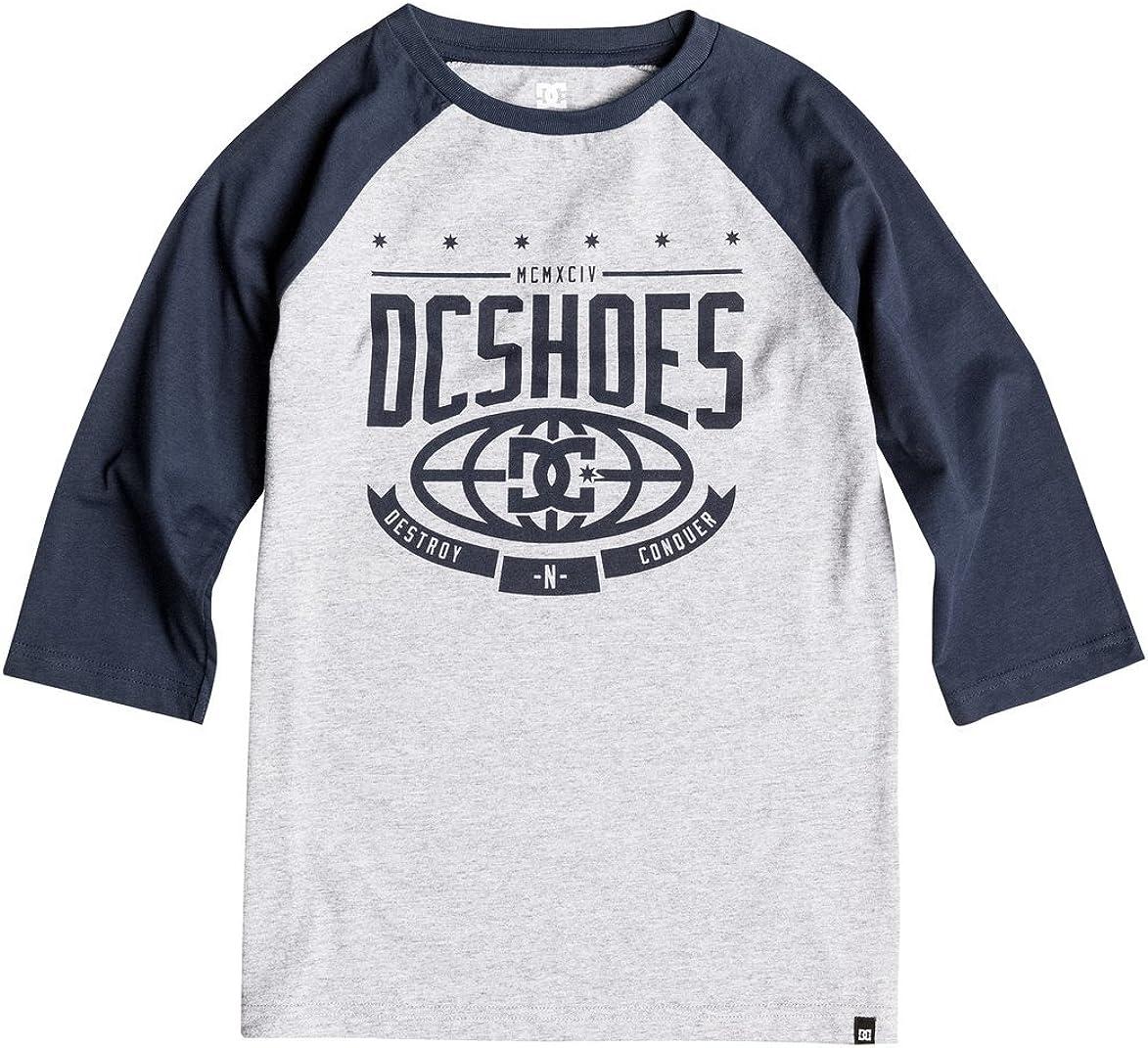 DC Shoes The Creed Rag B B Tees Btl0 Camiseta, niño, Azul ...