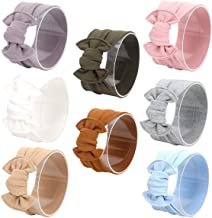 Mookiraer? Baby and Mother Newest Hair Bows Turban Headband Head Wrap Knotted Hair Band 3set (BY26)