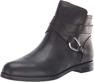 Lauren Ralph Lauren Women's Hermione Ankle Boot, black, 5 B US