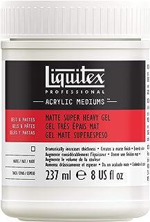 Liquitex 5808 Professional Matte Super Heavy Gel Medium, 8-oz
