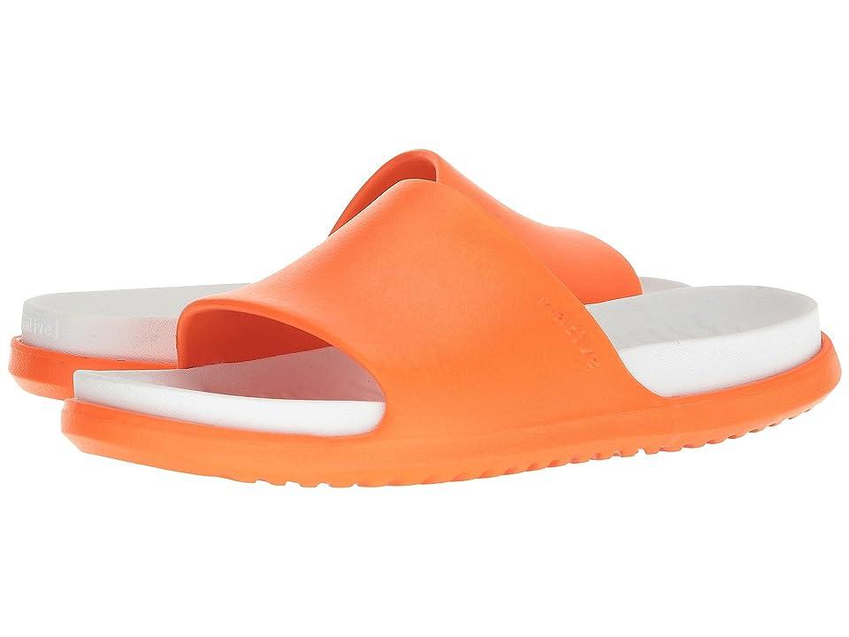 Native Shoes Spencer LX (Sunset Orange/Shell White) Sandals