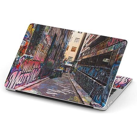 igsticker Macbook Pro 13inch 2020/19/18/17/16 専用スキンシール A1989 / A1706 / A1708 マックブック プロ 13インチ 専用シール フィルム ステッカー アクセサリー 保護 012366 ペイント 風景 町