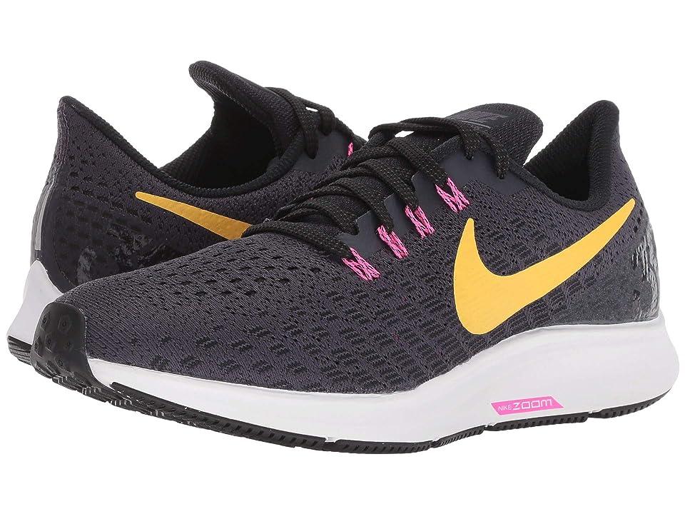 Nike Air Zoom Pegasus 35 (Gridiron/Laser Orange/Black/Pink Blast) Women
