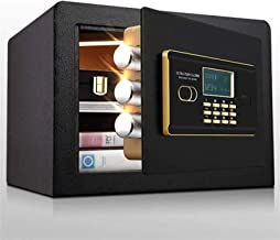 HDZWW Electronic Deluxe Digital Security Safe Box Keypad Lock Home Office Hotel Business Jewelry Cash Use Storage Money Sa...
