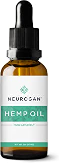Neurogan Organic Hemp Seed Oil 60 mL 100% Pure   Virgin Cold Pressed   Hair & Scalp Nourishment   Treat Acne   Anti-Aging   Soft, Smooth, Hydrated Skin & Nails   Anti-Inflammatory
