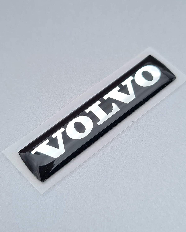 Fortillo Dave S Barton Lenkrad Volvo Emblem Zeichen Logo Airbag Blau 47x10mm Auto