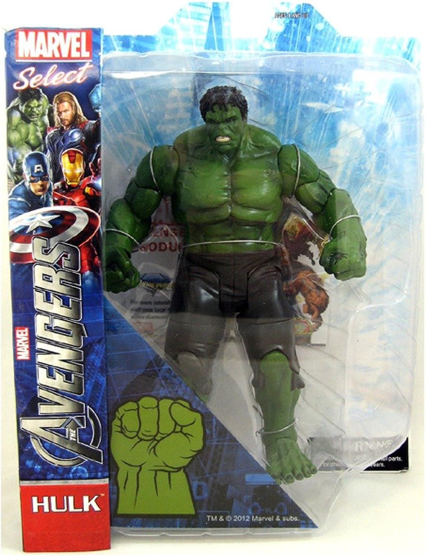 echa un vistazo a los más baratos Diamond Select Juguetes Marvel Select    Avengers Movie Hulk Acción Figura (japan import)  en stock