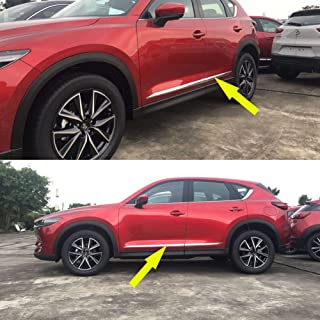 fit 2017-2019 Mazda CX-5 CX-9 Chrome Door Handles Cover Trim with Smart Keyhole