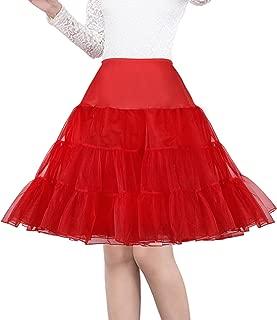 50's net underskirt petticoat